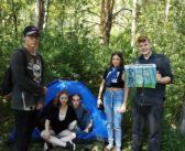 В Берёзовой роще на Краснолесье появились палатки из-за поджигателей