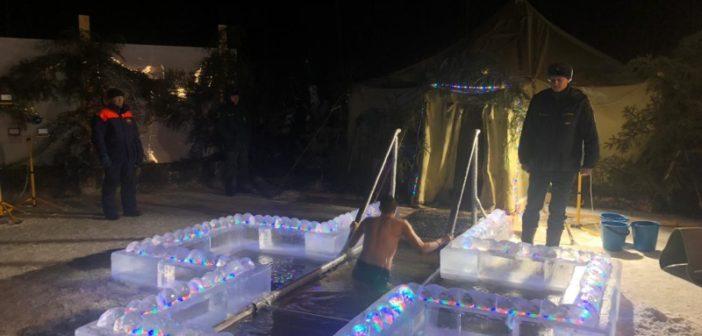 Мода на крещенские купания среди свердловчан прошла: окунулись 58 тысяч человек