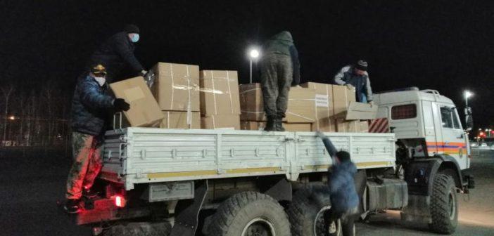 В Свердловскую область прибыла крупная партия масок, но не для простых жителей